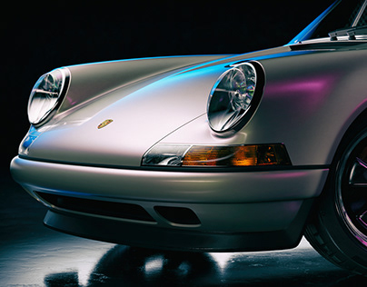 Porsche 911(964) Reimagined By Singer