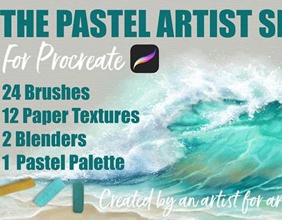 The Pastel Artist Set for Procreate