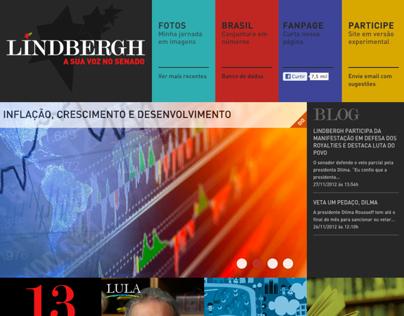 Site Senador Lindbergh Farias