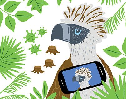 Philippine Eagle Week Social Media Materials