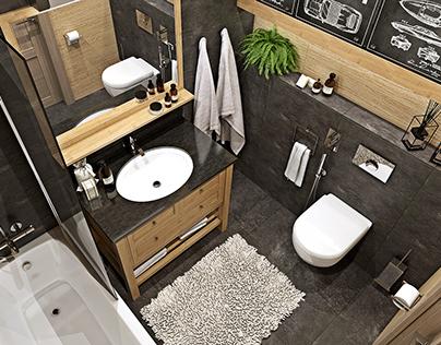 Guest Bathroom for Villa Chalet