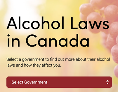 CFTA - Alcohol Laws