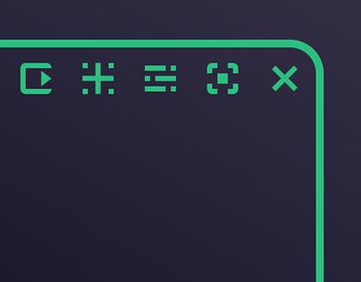 Fluxonaut. UX/UI