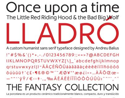 Lladró typeface