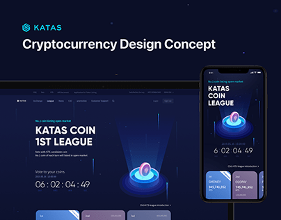 Cryptocurrency Design Concept