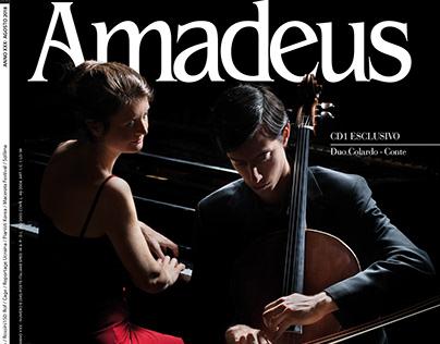 Amadeus, Aug 2018: cover, cd cover, inside photos
