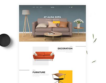 Сайт для мебельного магазина