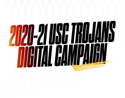 2020-21 USC Trojans Digital Campaign
