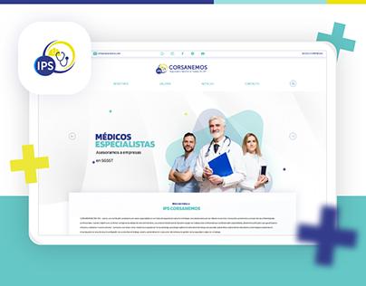 IPS Corsanemos - Hospital Design Web UI 2020