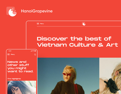 Hanoigrapevine Website Redesign
