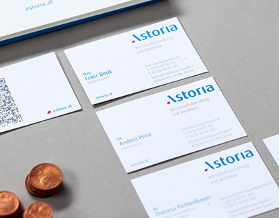 Astoria Steuerberatung: Corporate Design