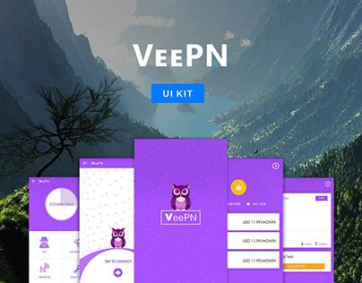 VeePN App Design (Hotspot Shield for all VPN lovers)