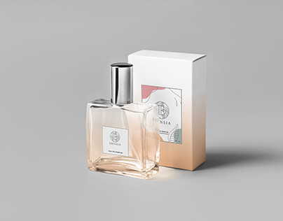 Fragrance Label and Packaging Design