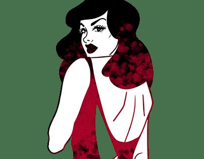 Femme Fatale Illustration