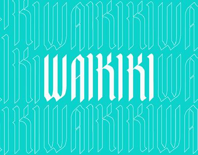 Waikiki - TYPO
