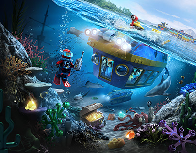 LegoLand California • Deep Sea Adventure