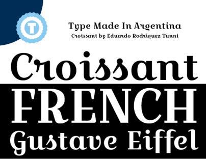 CROISSANT - Free Google Web Font