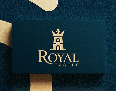Royal Castle Minimalist Logo Design