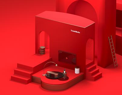 TrendiMedia |风尚传媒 — Branding & Web Design