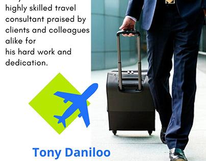 Tony Daniloo - Travel Consultant