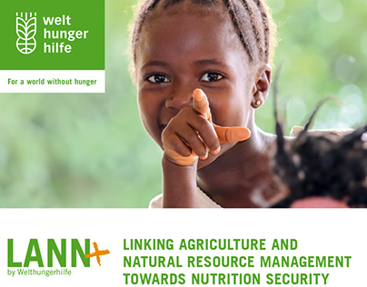 Broschüre LANN+ für Deutsche Welthungerhilfe e.V.