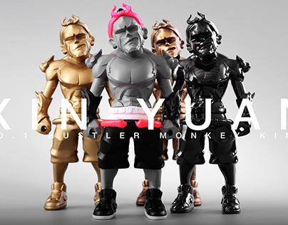 Art Toy-XIN YUAN (心猿)