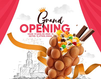 Wafl grand opening facebook post