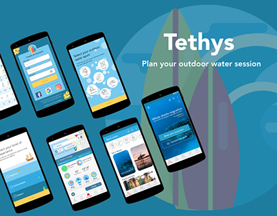 Tethys - Water sports exploration and planning app