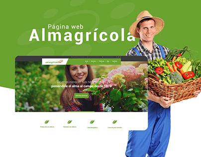 Almagrícola Web Design
