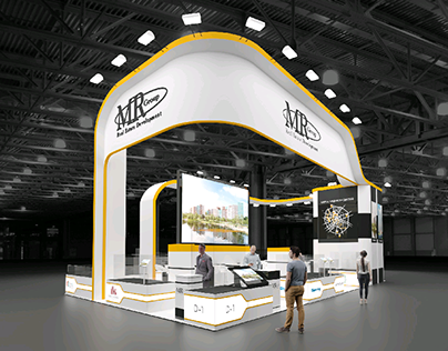 """Mr Group"" exhibition stand"