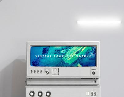 M O C K U P | Vintage scientific computer