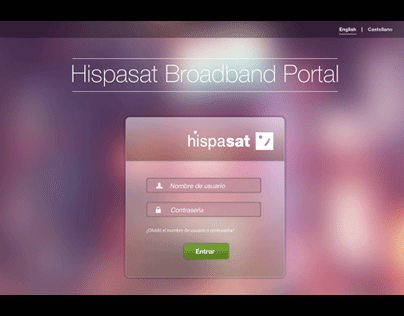 Hispasat Broadband Portal