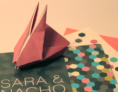 Wedding Invitation for Sara & Nacho
