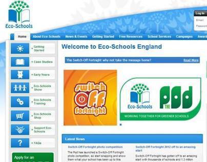 Eco-Schools website relaunch