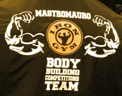 Iron Gym - Merchandising & Locandine