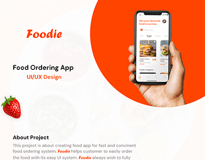 Food App UI/UX Design