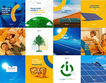 Social Media - Evolt Energia Solar