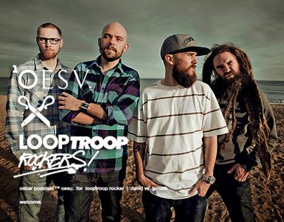 "™ OESU x LOOPTROOP ROCKERS"" clothing collaboration."