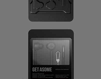 ASOME / EARPHONE