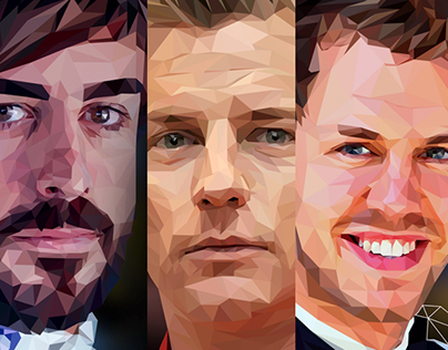 Low Poly, Formula 1 World Champions.