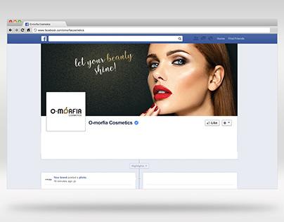 Social media posts - O-morfia Cosmetics