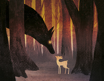 The Wolf and the Fawn