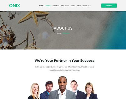 Web page UI & UX