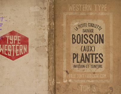 Font: Type Western 3