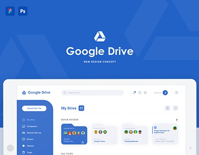 Google Drive New Design Concept