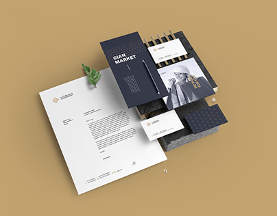 GIAN MARKET | Guidelines Identity & Brand building