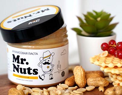 Mr. Nuts Packaging