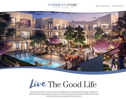Patricia Parc Landing Page
