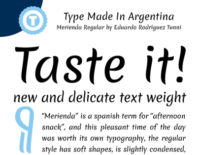 Merienda - Free Google Web Font