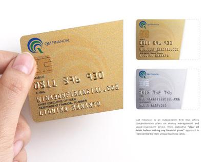 QM Financial Business Card
